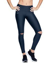 Under Armour Au Hg Fashion Cutout Legging - Blue