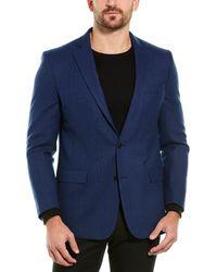 Brooks Brothers Regent Fit Wool Sport Coat - Blue