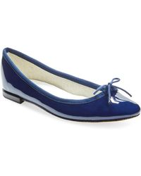 Repetto - Cendrillon Patent Leather Ballet Flat - Lyst