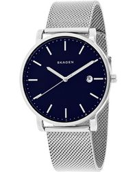 Skagen Denmark Men's Hagen Watch - Blue