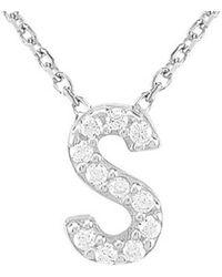 Gabi Rielle Silver Cz Necklace - Metallic