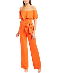 Trina Turk Guests Jumpsuit - Red