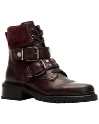 Frye Samantha Leather Hiker Boot - Brown