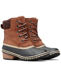 Sorel - Slimpack Lace Ii Leather Boot - Lyst