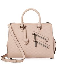 Rebecca Minkoff Leather Large Jamie Satchel - Pink