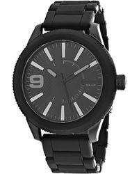 DIESEL Men's Rasp Watch - Black