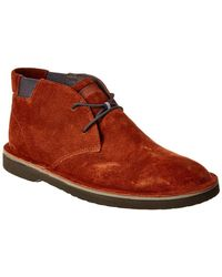 Camper Morrys Suede Chukka Boot - Brown