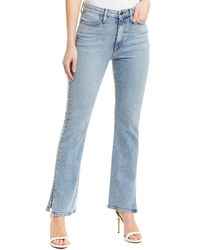 Alice + Olivia Fabulous Rebel High-rise Baby Bootcut - Blue