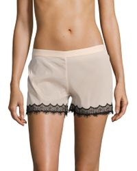 Mimi Holliday by Damaris - Bisou Zoo High Rise Silk Shorts - Lyst