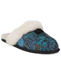 UGG - Scuffette Liberty Backless Slippers - Lyst