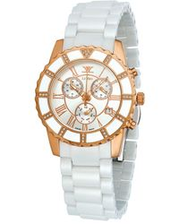 Le Vian Ceramic Diamond Watch - Metallic