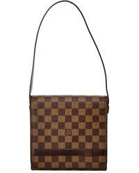 Louis Vuitton Damier Ebene Canvas Tribeca Mini - Brown