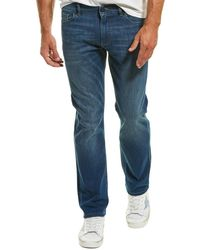 DL1961 Premium Denim Avery Epoxy Modern Straight Leg - Blue