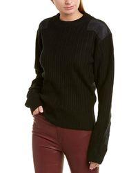 Helmut Lang Military Parachute Sweater - Black