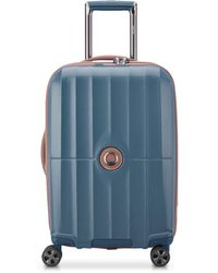Delsey St. Tropez 21in Expandable Carry On - Blue