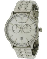 Armani Men's Stainless Steel Watch - Multicolor
