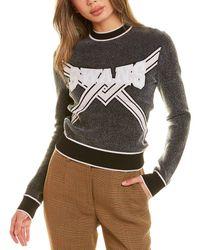 Off-White c/o Virgil Abloh Off-white? Swans Sweater - Gray