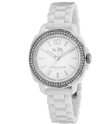 COACH Women's Tatum Ceramic Watch - Metallic