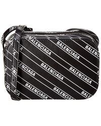 Balenciaga - Everyday Xs Leather Camera Bag - Lyst