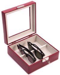 Bey-berk - Glass Top Eyeglass Case - Lyst