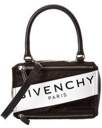 Givenchy Pandora Band Small Nylon & Leather Shoulder Bag - Multicolour