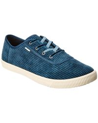 TOMS Carmel Corduroy Sneaker - Blue