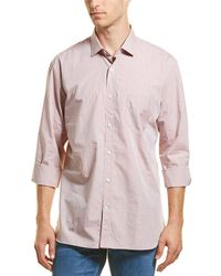 Billy Reid Holt Dress Shirt - Pink