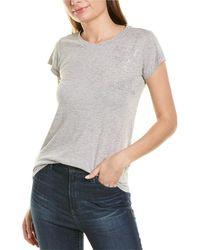 Zadig & Voltaire - Skinny Stars Strass T-shirt - Lyst