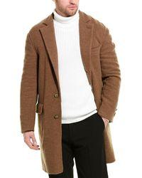 Brunello Cucinelli Cashmere Overcoat - Multicolor