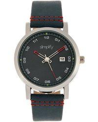 Simplify Unisex The 5300 Watch - Multicolor