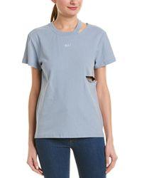 Honey Punch Brat T-shirt - Blue