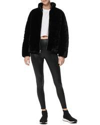 Marc New York Puffer Jacket - Black