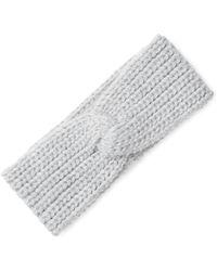 Portolano - Popcorn Stitch Headband - Lyst