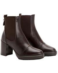 Aquatalia Ivory Waterproof Leather Bootie - Brown