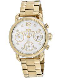 COACH Women's Delancey Watch - Metallic