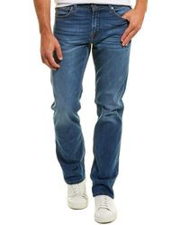 7 For All Mankind 7 For All Mankind Standard Panama Straight Leg - Blue