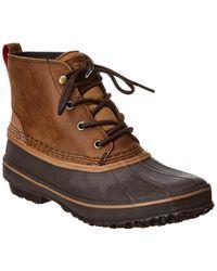 UGG Zetik Waterproof Leather Boot - Brown