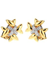 Heritage Tiffany & Co. - Tiffany & Co. 18k Platinum 0.65 Ct. Tw. Diamond Earrings - Lyst