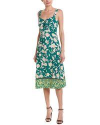 Re:named Re:named Saira Midi Dress - Green