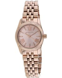 Michael Kors Women's Petite Lexington Watch - Multicolour