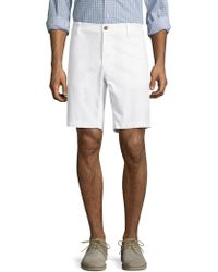 "Tailor Vintage - 9"" Stretch Pique Walking Shorts - Lyst"
