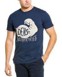 Deus Ex Machina Spinach T-shirt - Blue