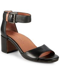 Gentle Souls - Christa Leather Ankle Strap Sandals - Lyst