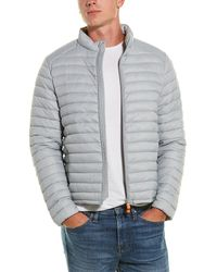 Save The Duck Giga Quilted Jacket - Gray