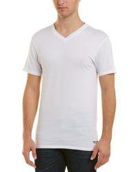 Kenneth Cole - New York 3 Pack Slim V-neck T-shirt - Lyst