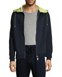Armani Exchange Hooded Sport Jacket - Blue