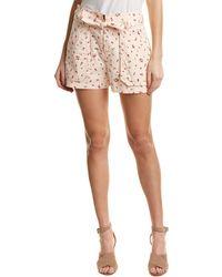 Rebecca Taylor Mia Floral Short - Pink