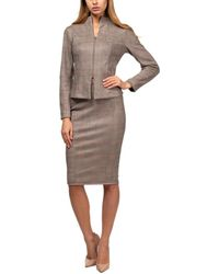 Aerin Jacket & Skirt - Natural
