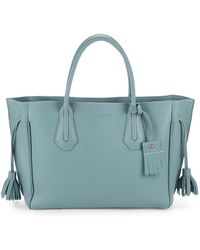 Longchamp - Penelope Medium Leather Tote - Lyst