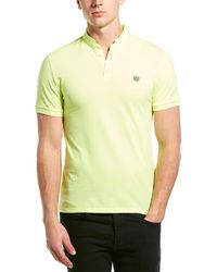 The Kooples Fitted Pique Polo - Yellow